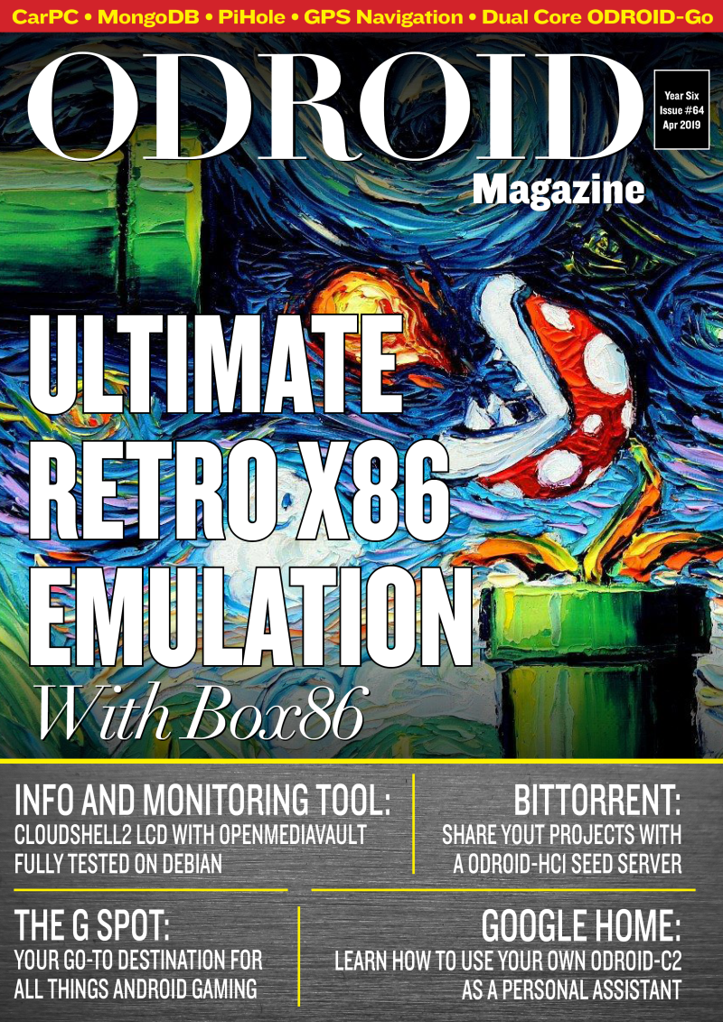 Good Read: April 2019 Issue of ODROID Magazine
