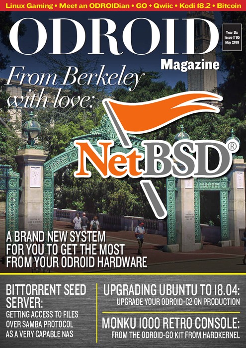Good Read: May 2019 Issue of ODROID Magazine