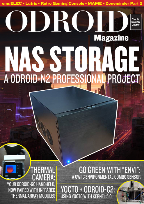 Good Read: July 2019 Issue of ODROID Magazine