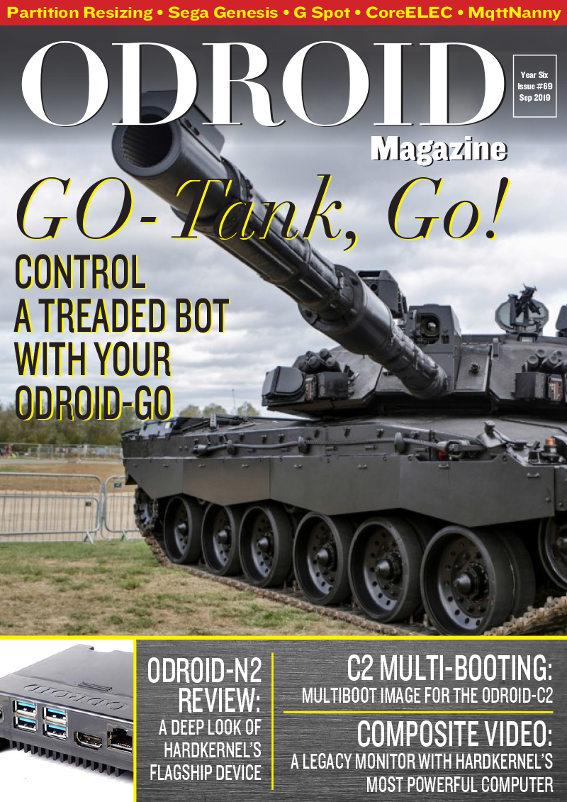 Good Read: September 2019 Issue of ODROID Magazine