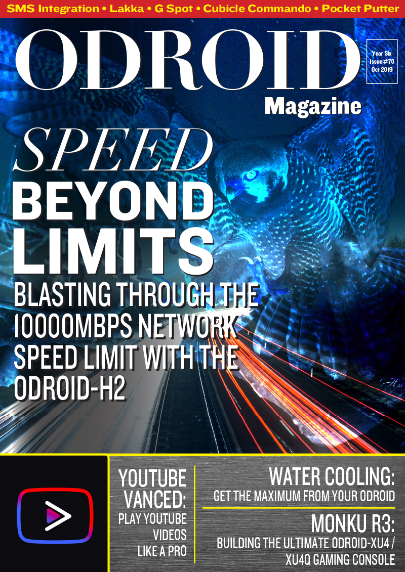 Good Read: October 2019 Issue of ODROID Magazine