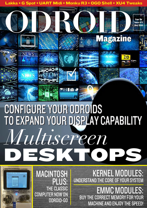 Good Read: November 2019 Issue of ODROID Magazine
