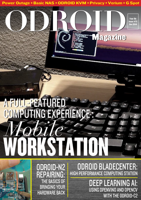 Good Read: December 2019 Issue of ODROID Magazine