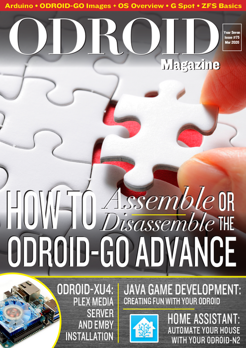 Good Read: March 2020 Issue of ODROID Magazine
