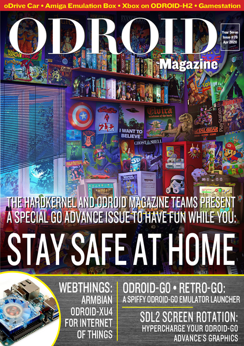 Good Read: April 2020 Issue of ODROID Magazine (a little late)