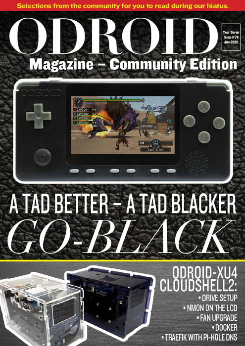 Good Read: June 2020 Issue of ODROID Magazine (a little late)