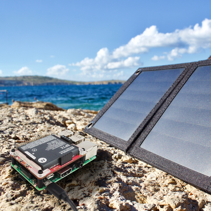 Watch: PiJuice Solar Panels - Great For Charging Your Phone (or Running Your SBC Off-The-Grid)