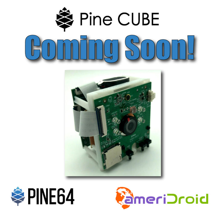 Upcoming Product: Pine CUBE IP Camera Giveaway Contest