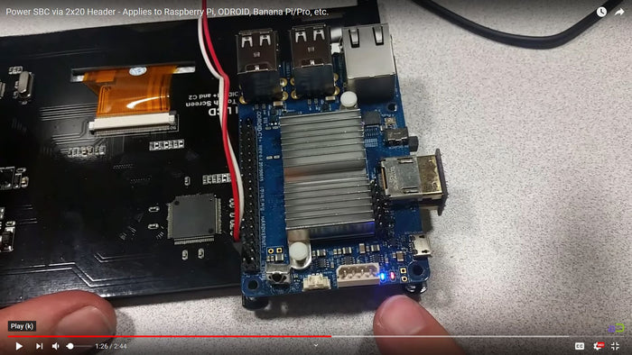 How-To: Power SBC From GPIO Header