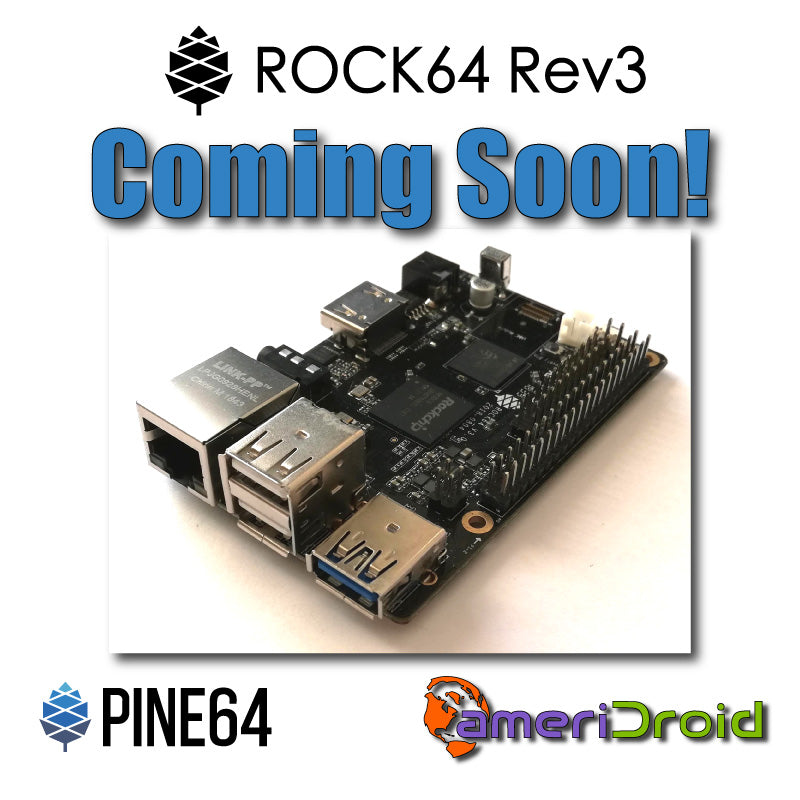 Upcoming Product: ROCK64 Rev3 Giveaway Contest