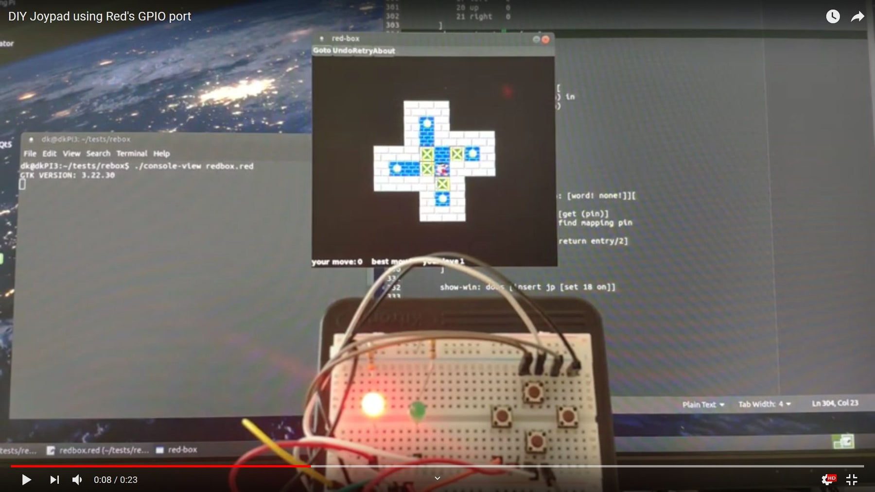 "Coding: ""Red"" Language Introduces Integrated GPIO Support"