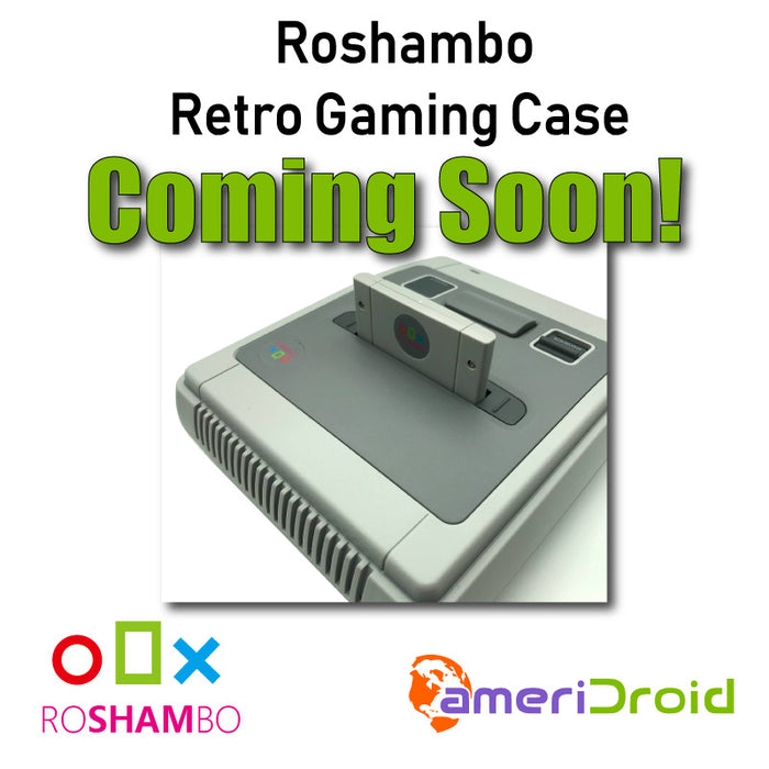 Upcoming Product: Roshambo Retro Gaming Case Giveaway!