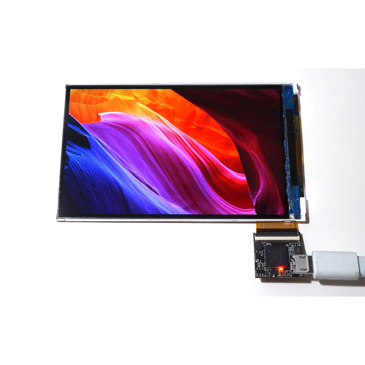 How-To: 4.1 inch 800x480 USB2 Display - Capturing and displaying desktop