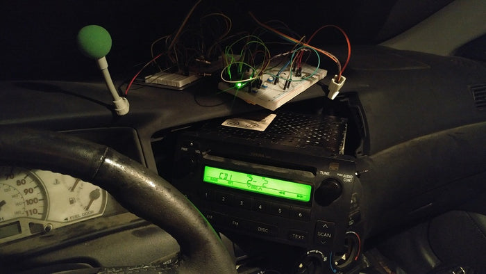 Project: Reverse Engineer Toyota Head Unit