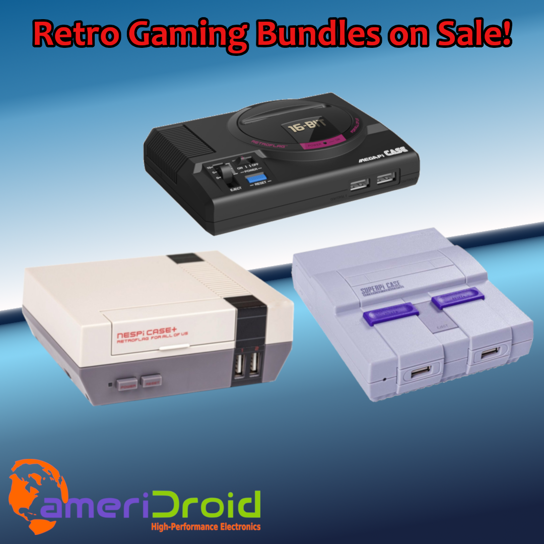 SALE: Raspberry Pi Super Mega Fun Time Awesome Retro Gaming System 65% OFF