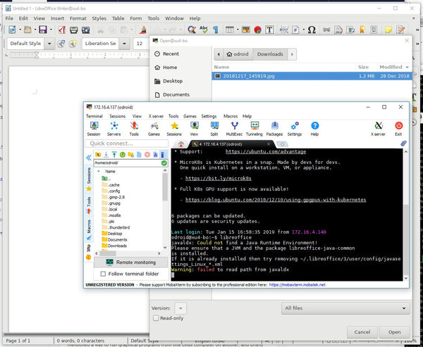 How To: Run Graphical Linux programs from your SBC on your Windows