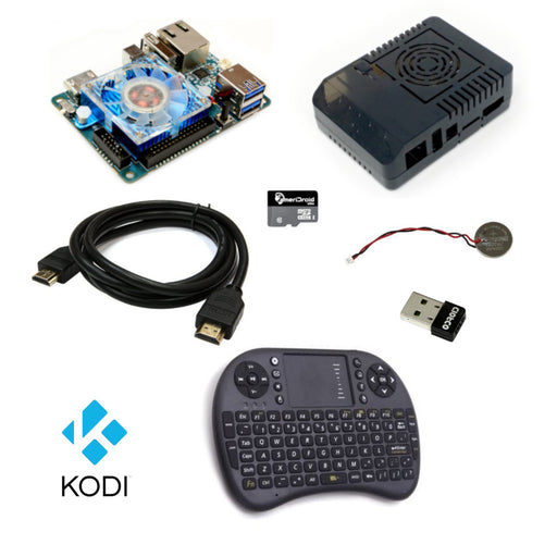 ODROID-XU4 1080p Performance Kodi Kit