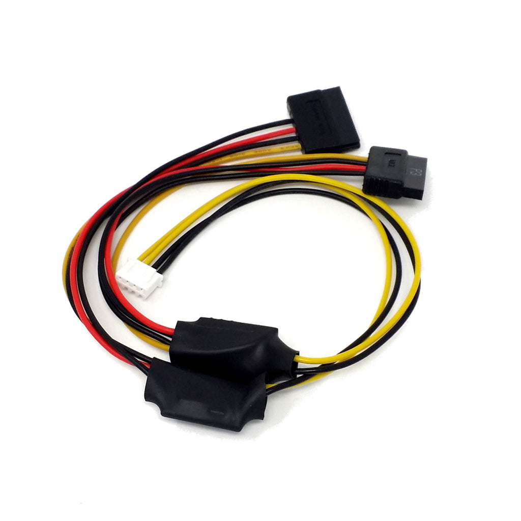 Cool Rockpro64 Power Cable For Dual Sata Drives Ameridroid Wiring Cloud Hisonuggs Outletorg