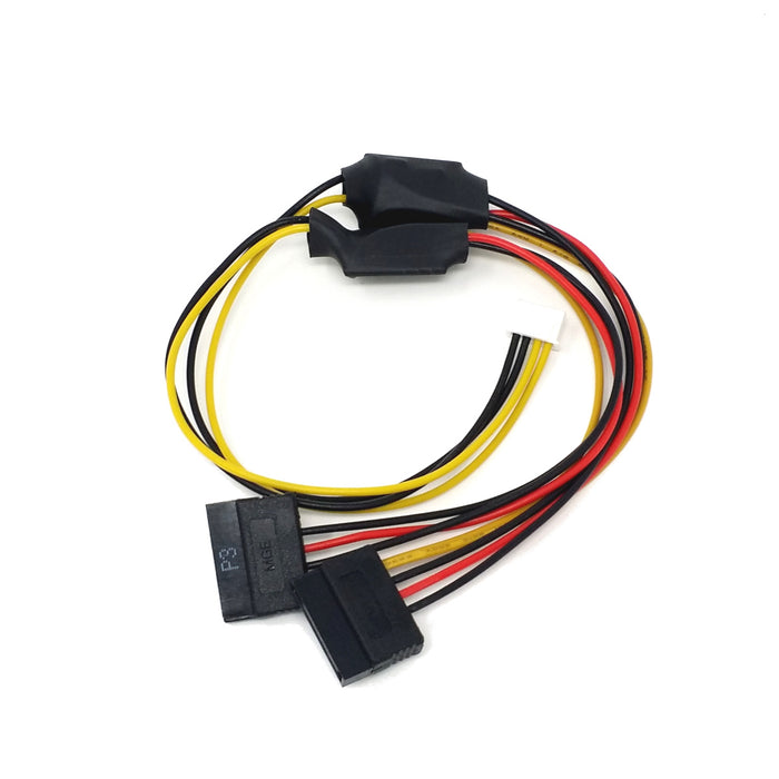 ROCKPro64 Power Cable for dual SATA Drives
