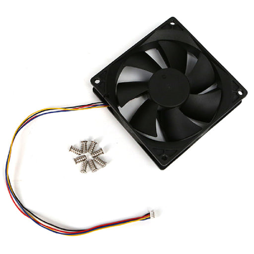 92x92x25mm DC Cooling Fan w/PWM, Speed Sensor