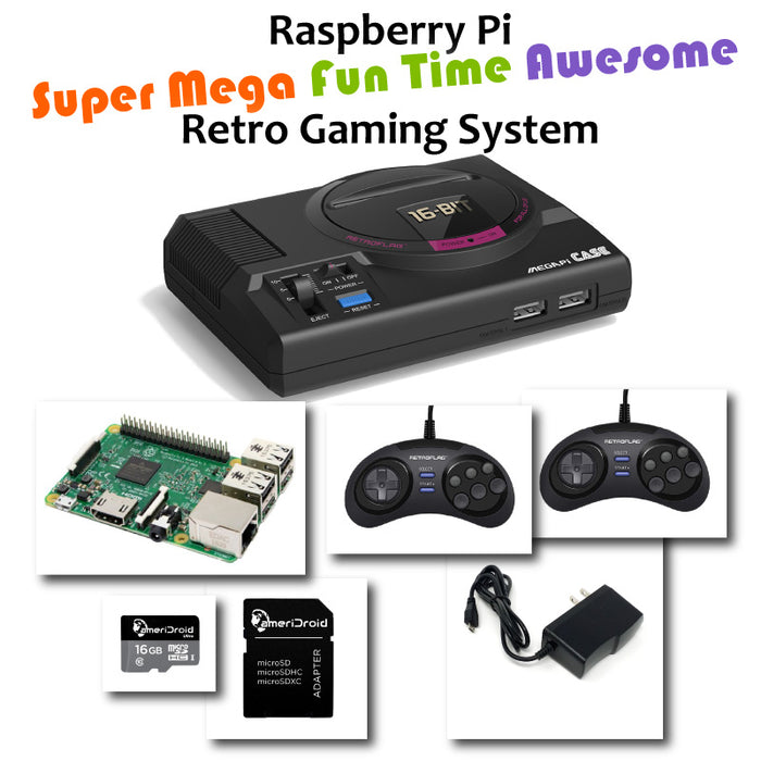 Raspberry Pi Super Mega Fun Time Awesome Retro Gaming System