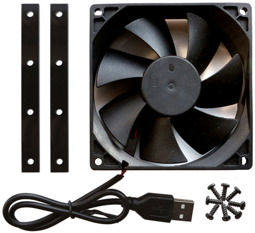 ODROID-MC1 Cooling Fan, Acrylic Mount and Screw Package