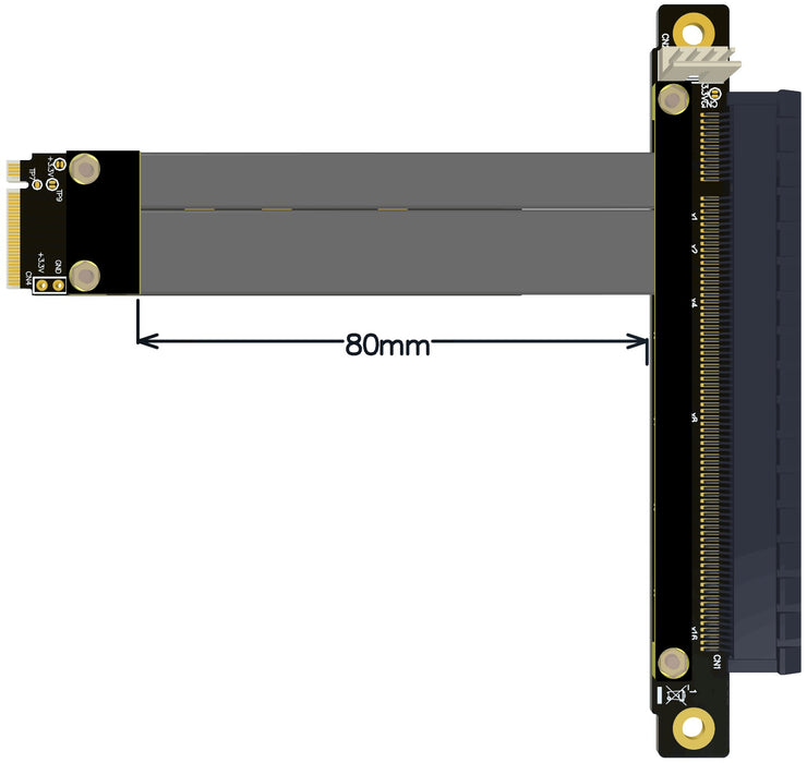 M.2 to PCIe Adapter - Straight