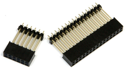 30-pin and 12-pin Header Sockets