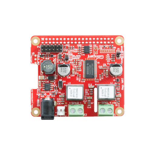 JustBoom Amp and DAC HAT for Raspberry Pi