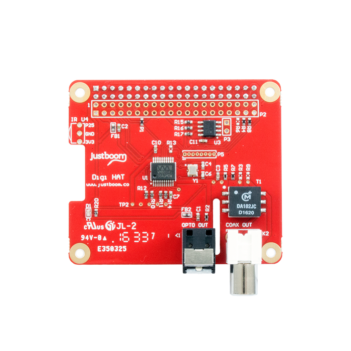 JustBoom Digi HAT for Raspberry Pi