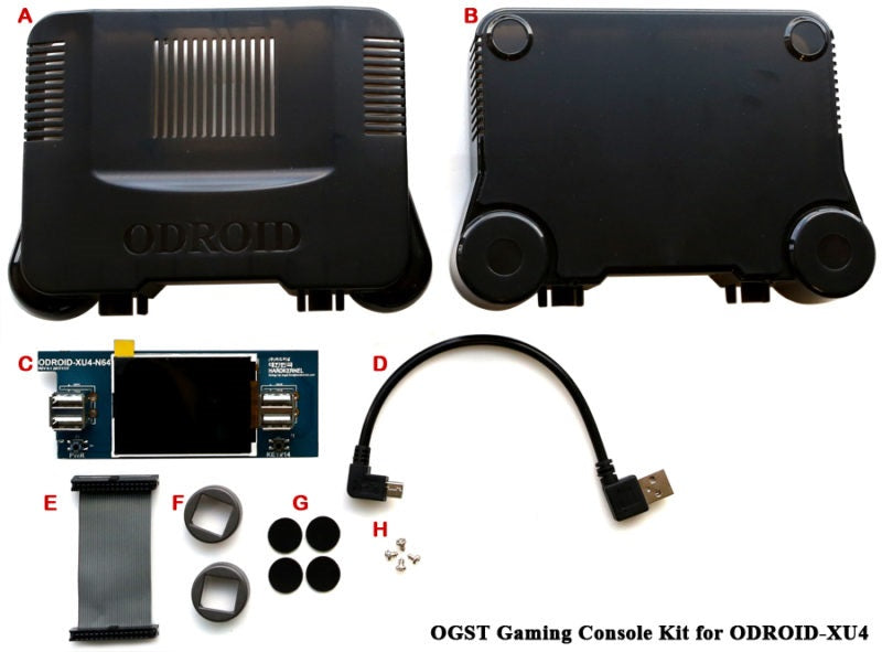 OGST Gaming Console Case for ODROID-XU4