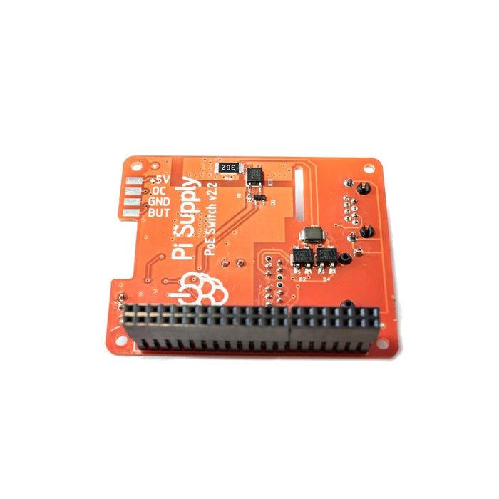 Pi PoE Switch HAT for Raspberry Pi 3 Model B+