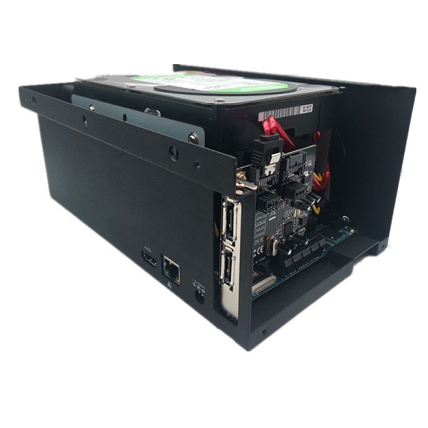 ROCKPro64 Metal Desktop/NAS Case