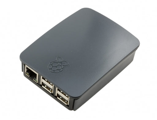 Official Raspberry Pi B+/2/3 Black & Grey Case
