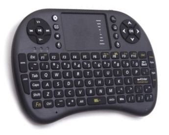 Rii i8+ 2.4GHz Mini Wireless Keyboard with Trackpad