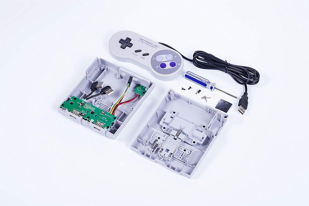 Retroflag SUPERPi Raspberry Pi Case - US Version - Deluxe Edition