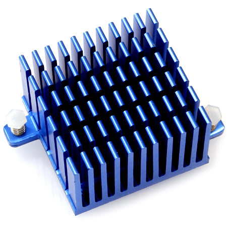 Heat Sink 40x40x25 Blue