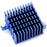 Heatsink 40x40x25mm Blue