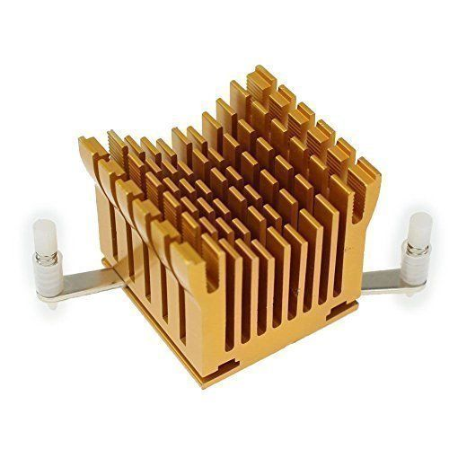 Heat Sink 40x38x36 Gold