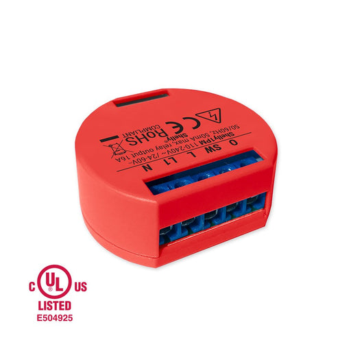 Shelly 1PM UL - WiFi AC/DC Relay Switch 16A