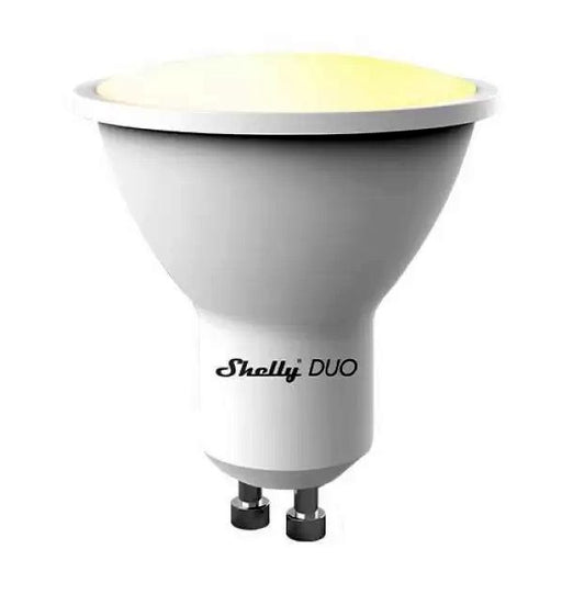Shelly Duo GU10 - WiFi Cool White / Warm White Bulb