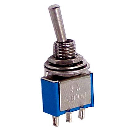 Toggle Switch - Maintained 250V/3A 11mm Toggle