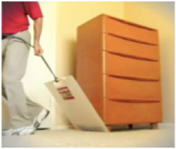 After Back Surgery...Easily Move Heavy Stuff - get your own BIGSLIDER™ utility mover
