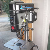 Moving a Heavy Drill Press around the Garage