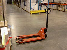 Alternative to Problems with Pallet Jacks – easily move heavy carpet tiles