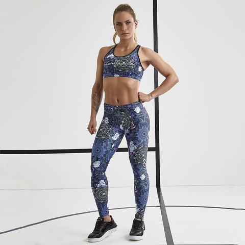 Over Print Set Labellamafia FCJ13274-Leggingsit-FITIN.FI