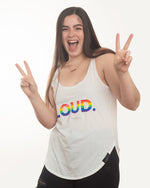 Be Quietly Loud Rainbow Tank