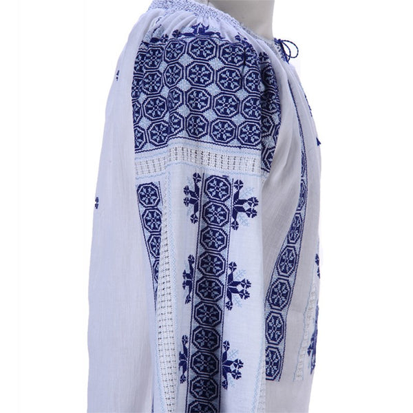 Romanian Authentic Embroidered Blouse