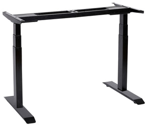 UNICOO - Electric Dual Motor Standing Desk Frame (Black)