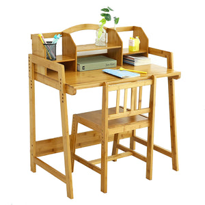 UNICOO - Bamboo Kids Desk Set (Nature -01)